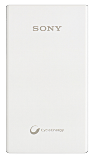 SONY powerbank 5800 mah blanc.