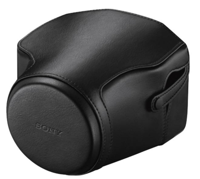 SONY etui cuir noir lcjrxeb (rx10 rx10m2).