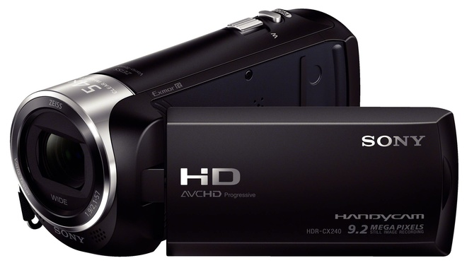 SONY CAMESCOPE HDR-CX240 HD