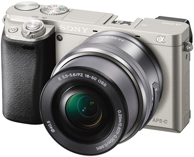 SONY ALPHA 6000 ARGENT + 16-50