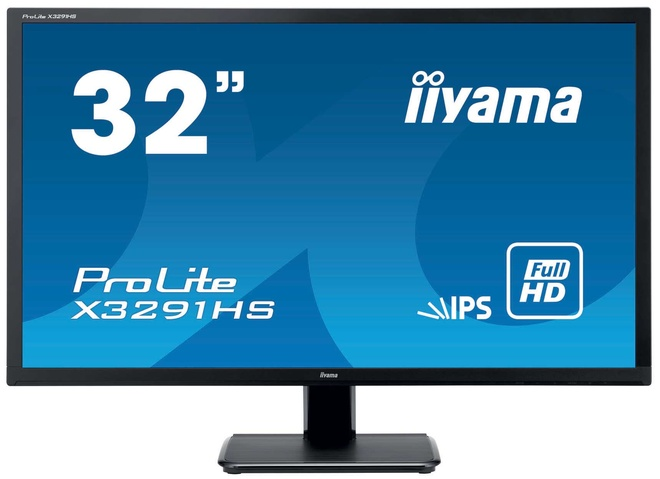 IIYAMA 31'5 HA-IPS 1920x1080 vga hdmi dvi