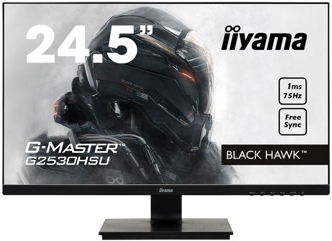 IIYAMA 24'5.G-Master.1920x1080.75hz.freesync.