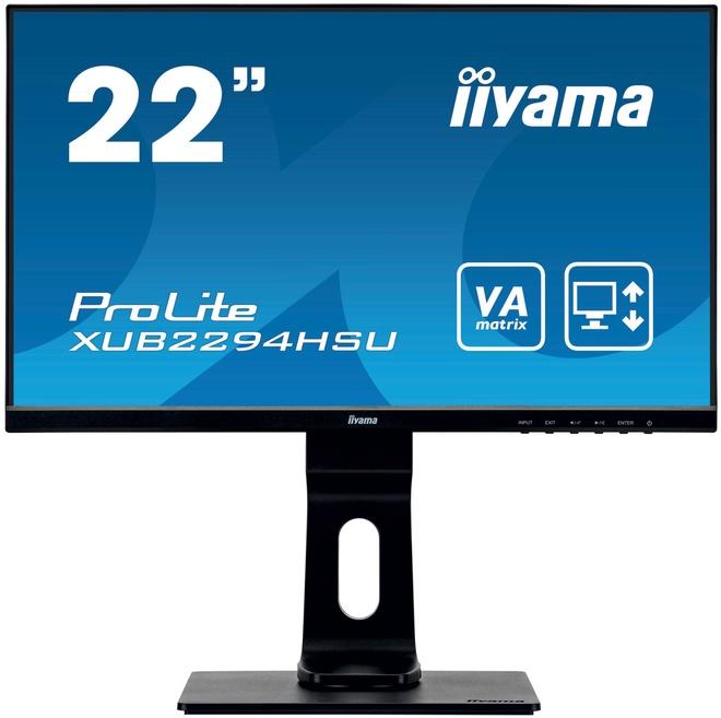 IIYAMA 21'5 1920x1080 HDMI VGA 2USB reglable ha