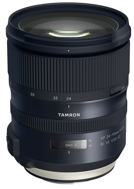 TAMRON 24-70/2.8 SP DI VC USD G2 CANON