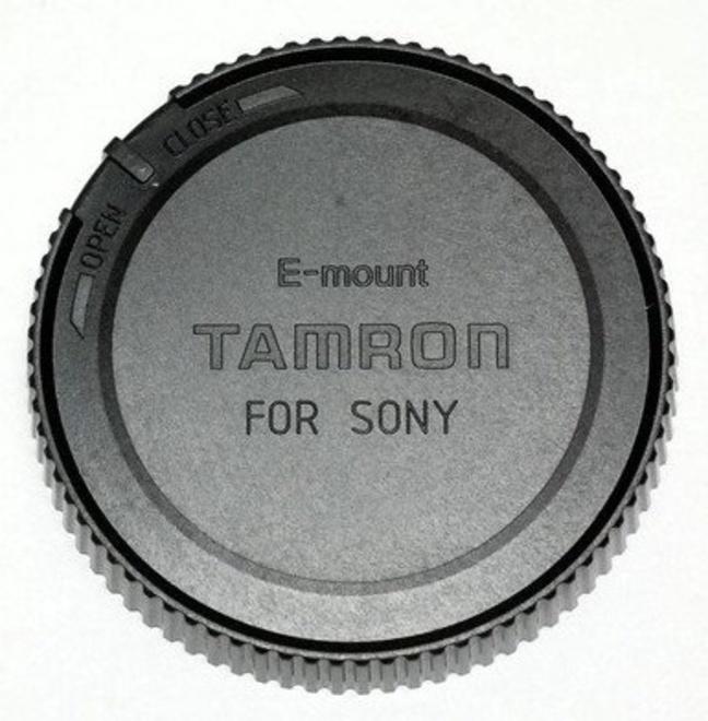 TAMRON BOUCHON OBJECTIF ARRIERE SE/CAP SONY E