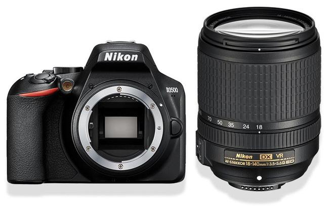 NIKON D3500 + 18-140 ED VR