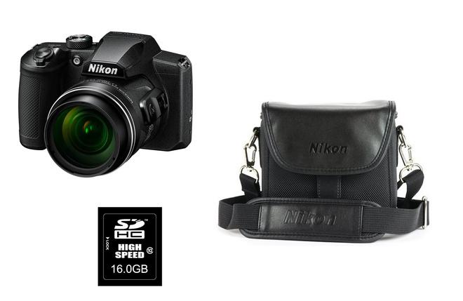 NIKON PROMO B600 NOIR+ FOURRE TOUT + SD16GO