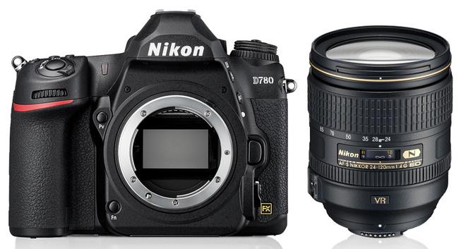 NIKON D780 + 24-120/4 G ED VR