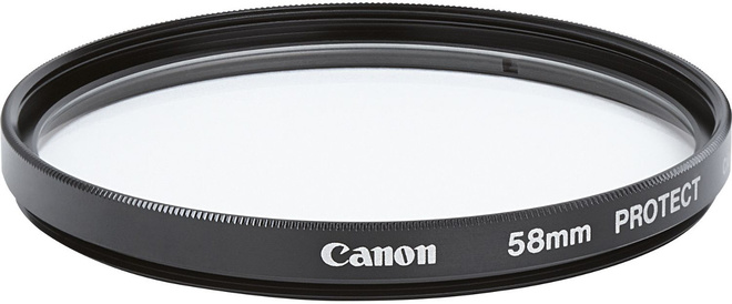 CANON FILTRE PROTECTION 58 MM. (RC)