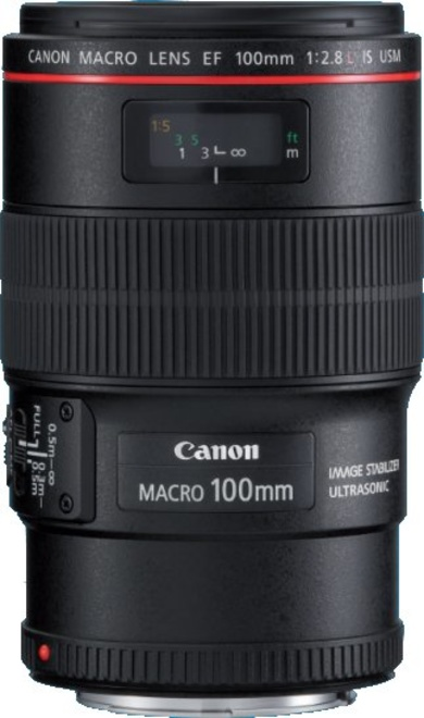 CANON EF 100/2.8 L IS USM MACRO