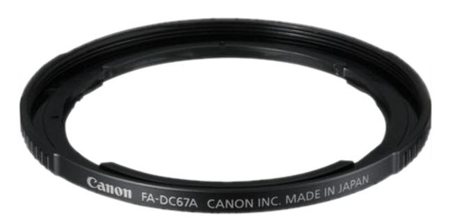 CANON BAGUE ADAPTATION FILTRE FA-DC67A