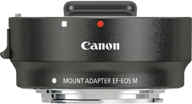 CANON BAGUE ADAPTATION EF-EOS M