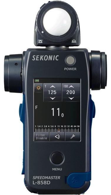 SEKONIC Flashmetre Speedmaster L 858 D