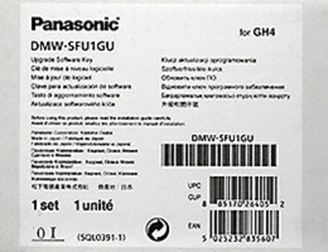 PANASONIC mise a jour logiciel v-log gh4.