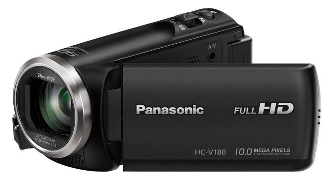 PANASONIC CAMESCOPE HC-V180 NOIR FULL HD