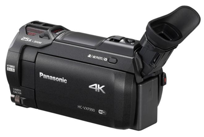 PANASONIC CAMESCOPE HC-VXF990 4K UHD