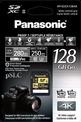 PANASONIC carte SD GH5 Lumix 128 GB R280 W 250.