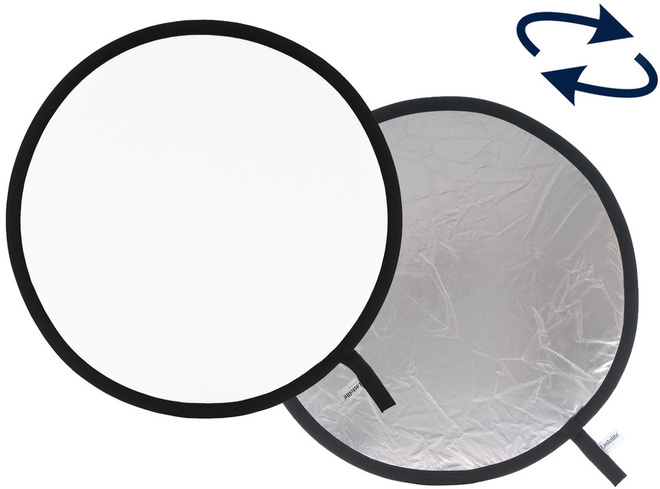 LASTOLITE Reflecteur pliant 50 cm Arg/Blc.