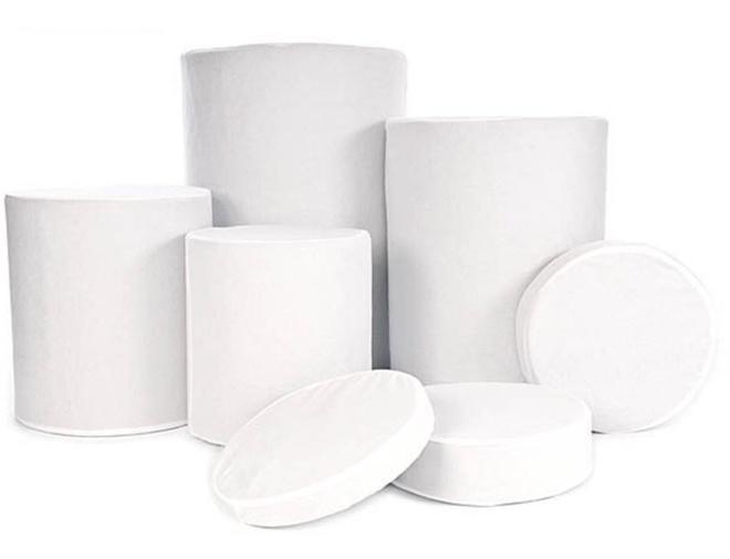 LASTOLITE Housses blanches lavables p/ 8014.