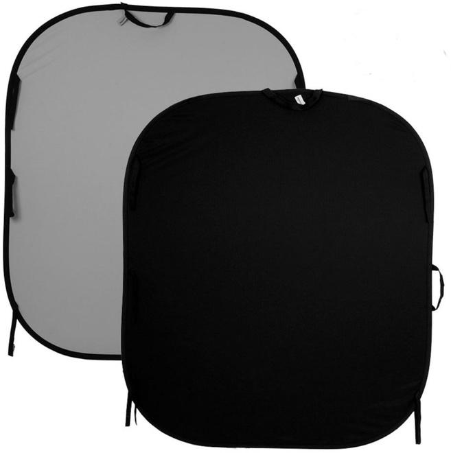 LASTOLITE fond pliant 150x180 noir/gris m.