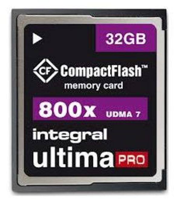 INTEGRAL COMPACTFLASH 800X 32GB