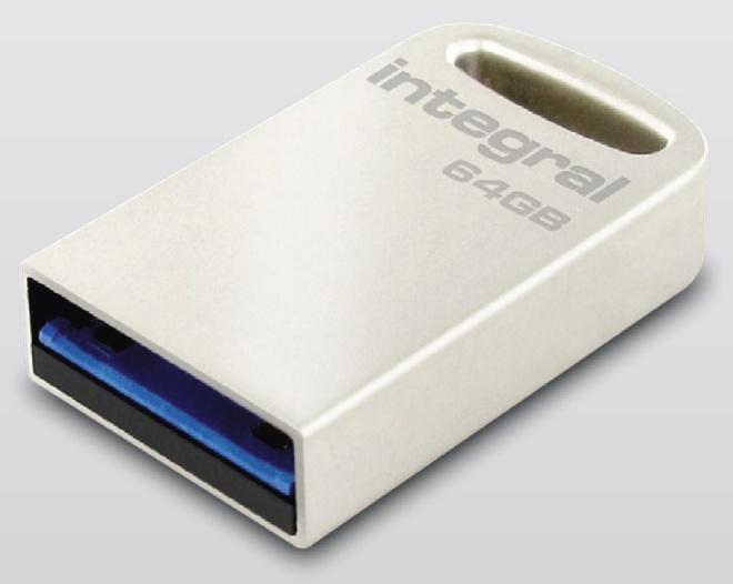 INTEGRAL nano cle usb metal 64 Go.