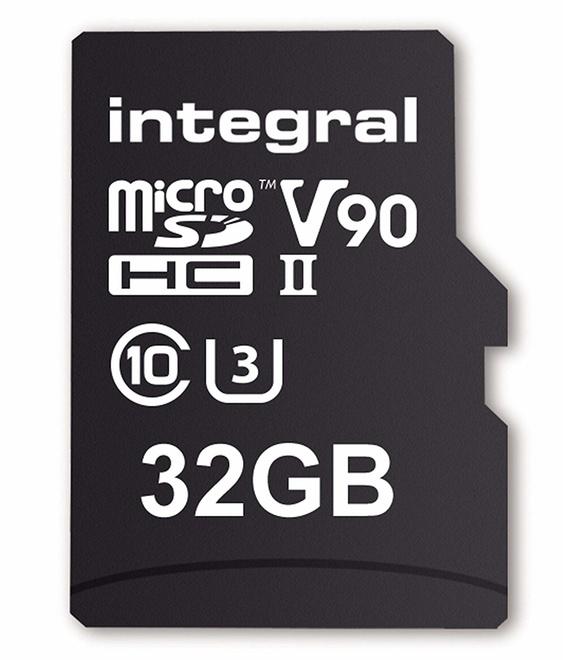 INTEGRAL MICROSDHC 32GB V90 8K 280/240MB