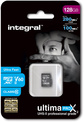 INTEGRAL 128gb micro sdxc cl10 uhs2 u3 v60