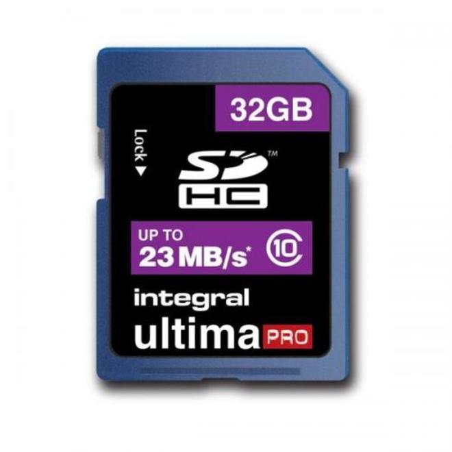 INTEGRAL SDHC 32GB V10 FULL HD