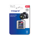 INTEGRAL SDXC 64GB  V10 FULL HD