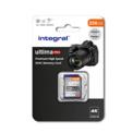 INTEGRAL SDXC  256GB V30 4K  100/90MB