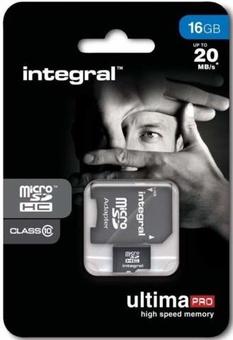 INTEGRAL MICROSDHC 16GB V10 FULL HD
