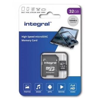 INTEGRAL MICROSDHC 32GB V10  FULL HD