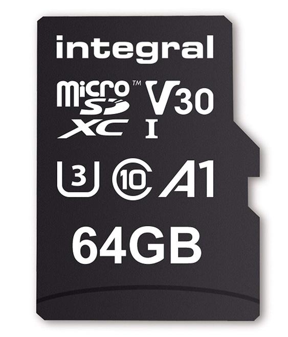 INTEGRAL MICROSDXC 64GB V30 4K