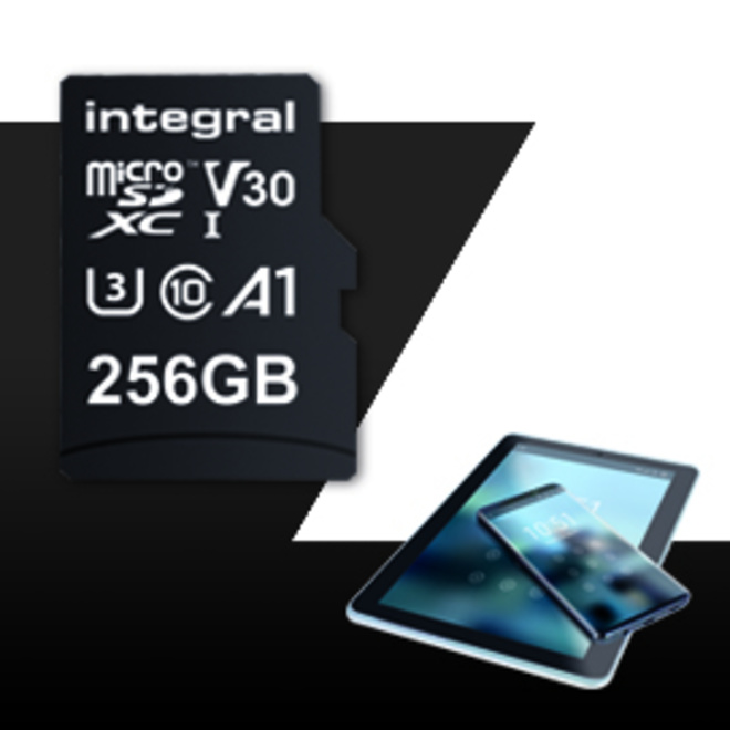INTEGRAL MICROSDXC 256GB V30 4K
