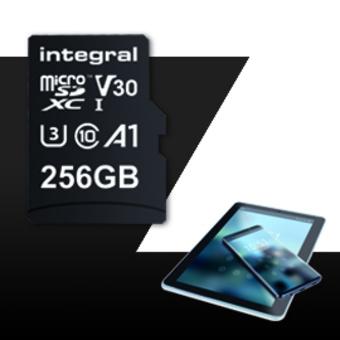 INTEGRAL MICROSDXC 256GB V30 4K