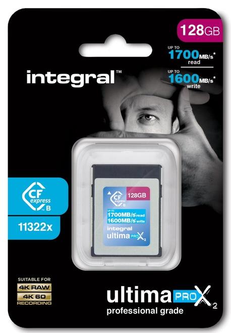 INTEGRAL CF 128Go 1700MB/1600MB