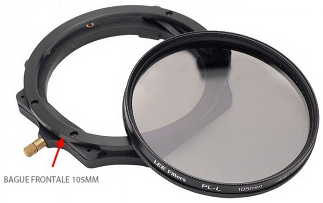 LEE FILTERS Bague frontale 105 p/filtre polarisant