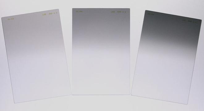 LEE FILTERS Jeu de 3 Filtres degrad ND Soft 150x170