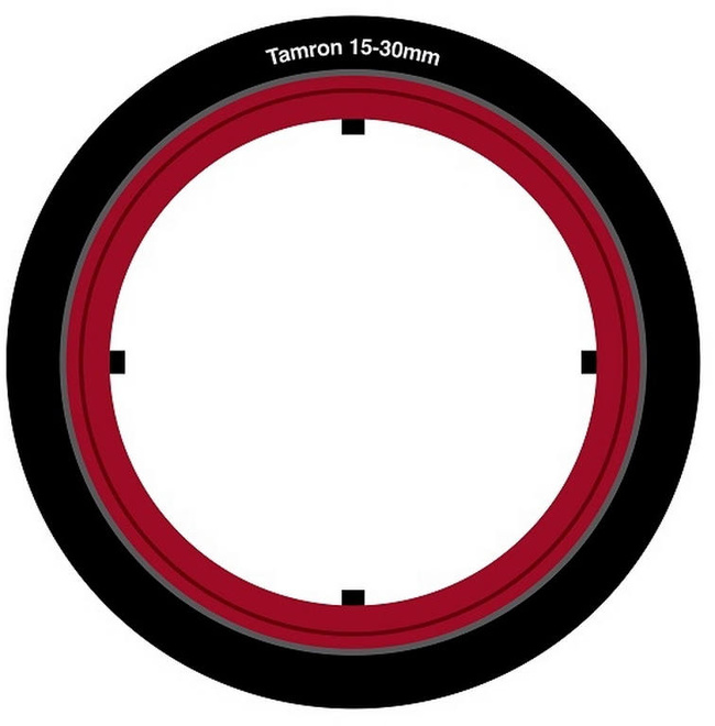 LEE FILTERS BAGUE ADAPTATION SW150 TAMRON 15-30