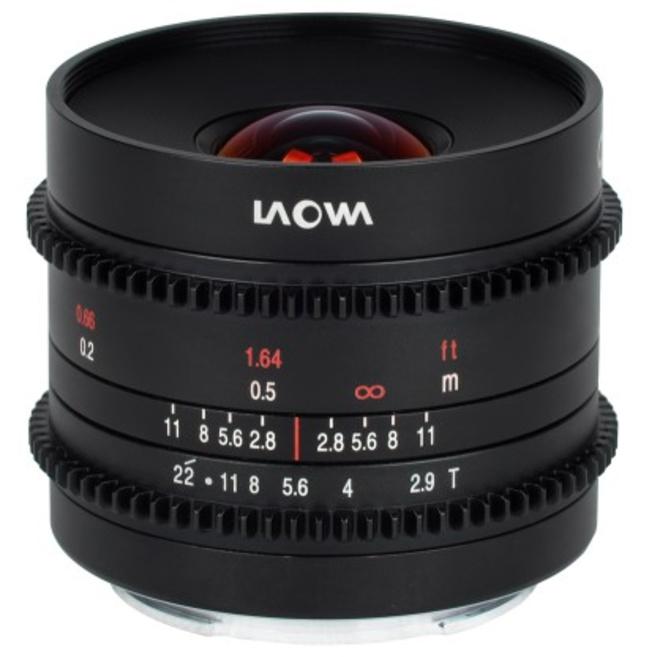 LAOWA 9/2.9 Zero-D Cine Fuji X