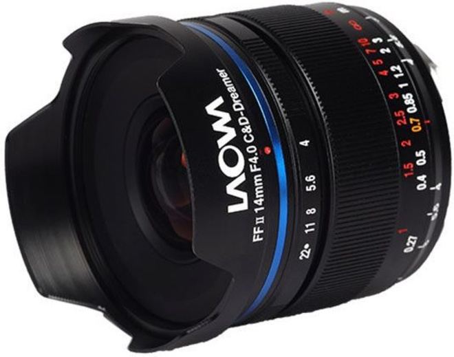 LAOWA 14/4 FF RL Zero-D Leica M Argent