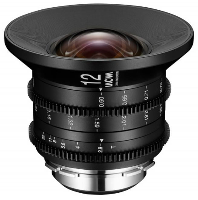 LAOWA 12/2.9 Zero-D Cine Metrique Canon EF