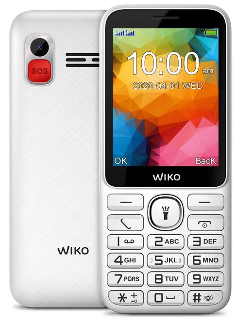 WIKO F 200 LS BLANC