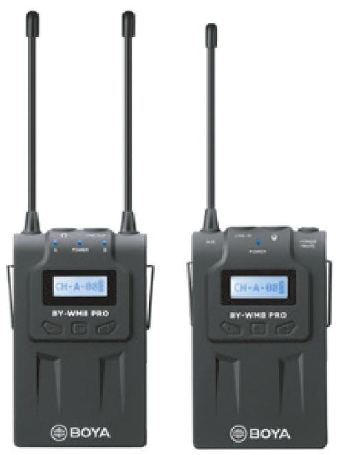 BOYA MICROPHONE HF DOUBLE CANAL WM8 PRO-K1