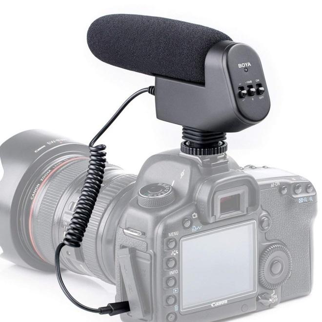 BOYA MICROPHONE CANON A CONDENSATEUR VM600