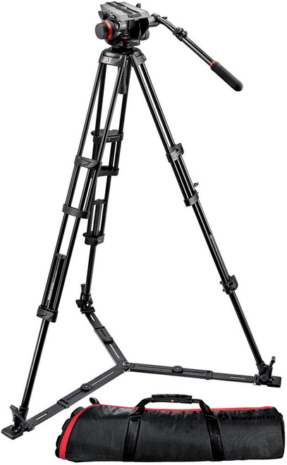 MANFROTTO TREPIED 546 VIDEO + ROTULE 504HD