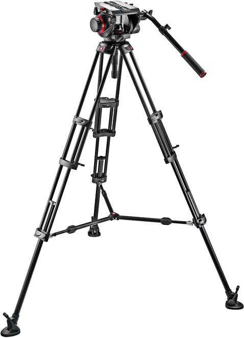 MANFROTTO TREPIED 545 VIDEO + ROTULE 509HD