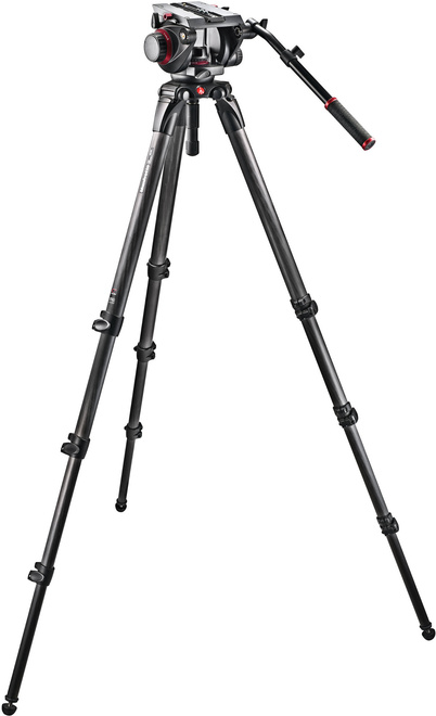 MANFROTTO TREPIED 536 VIDEO + ROTULE 509HD