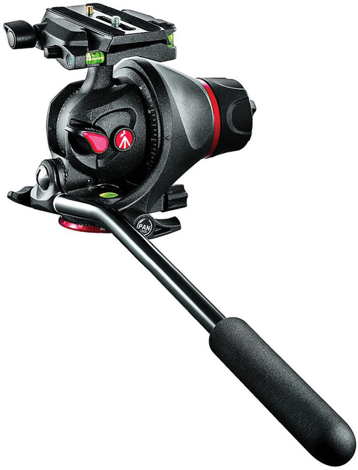 MANFROTTO rotule mh055m8 + plateau q5.